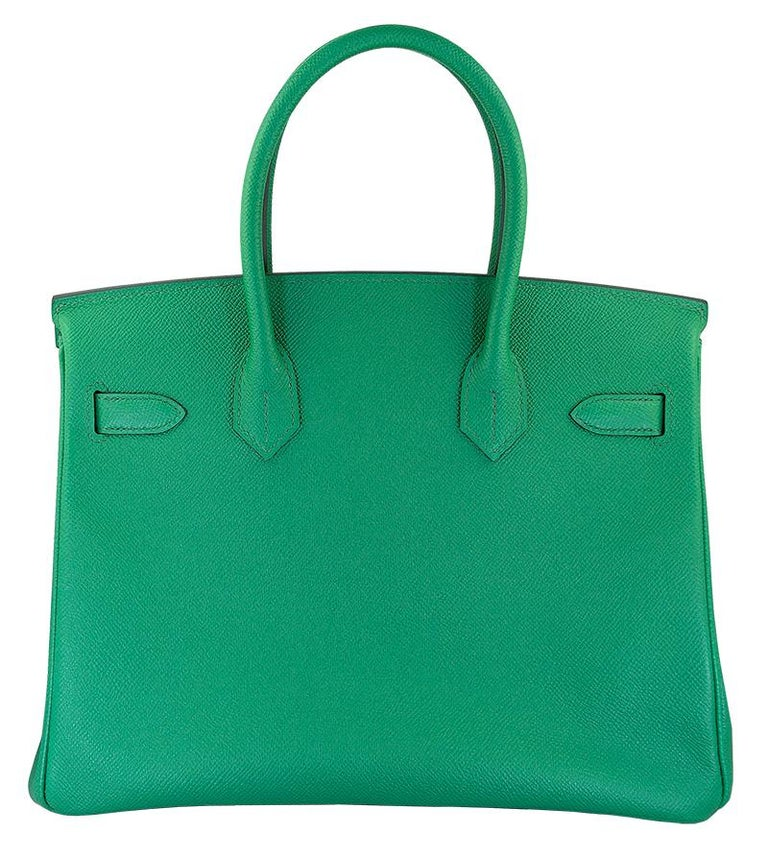 The Hermés Birkin bag embodies the quintessence of style and luxury due to its impeccable design, craftsmanship, and significance. Being that it is the most iconic and desired piece from the Hermés handbag collection, its value only increases. 100%