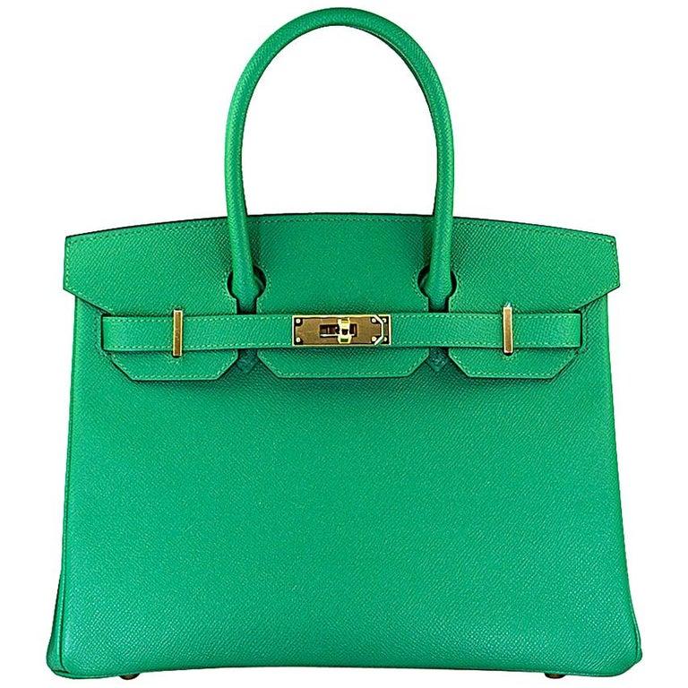 Hérmes 30cm Veau Epsom Birkin Bag For Sale