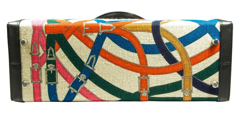 HERMES 32cm Limited Edition Retourne Kelly Bag In Excellent Condition For Sale In New York, NY