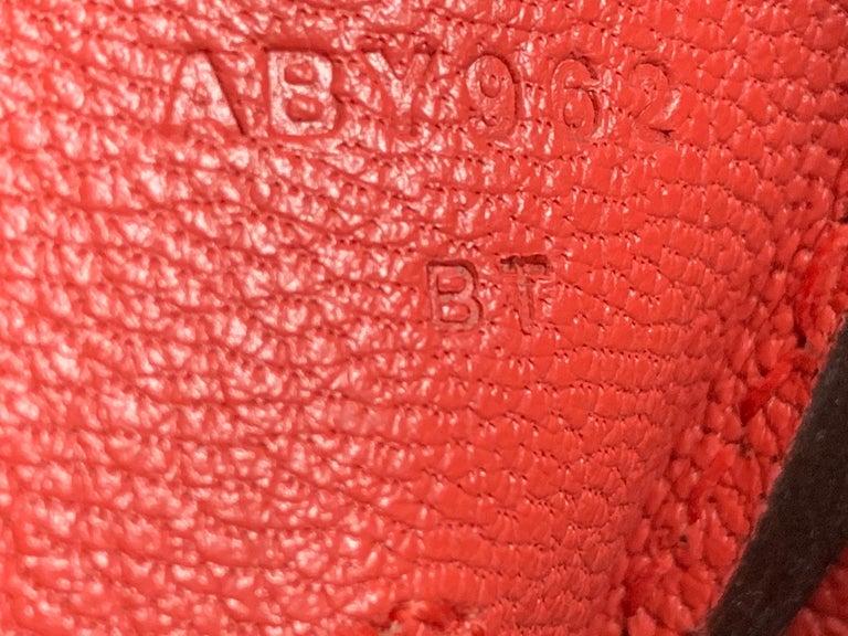 Women's Hermes 35cm Rouge Casaque Birkin Bag For Sale