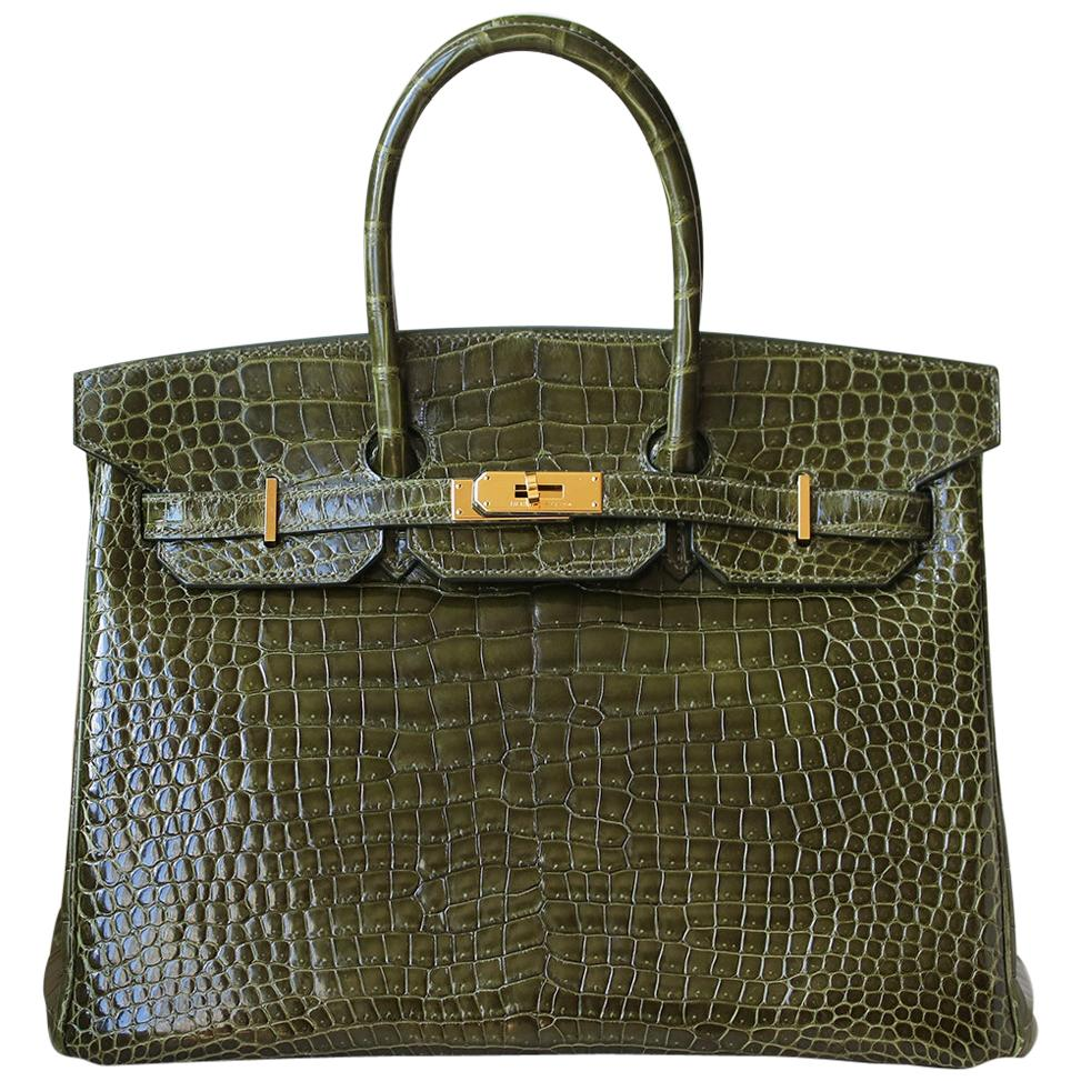 c9bb1afc4c9 Hermes Crocodile - 209 For Sale on 1stdibs