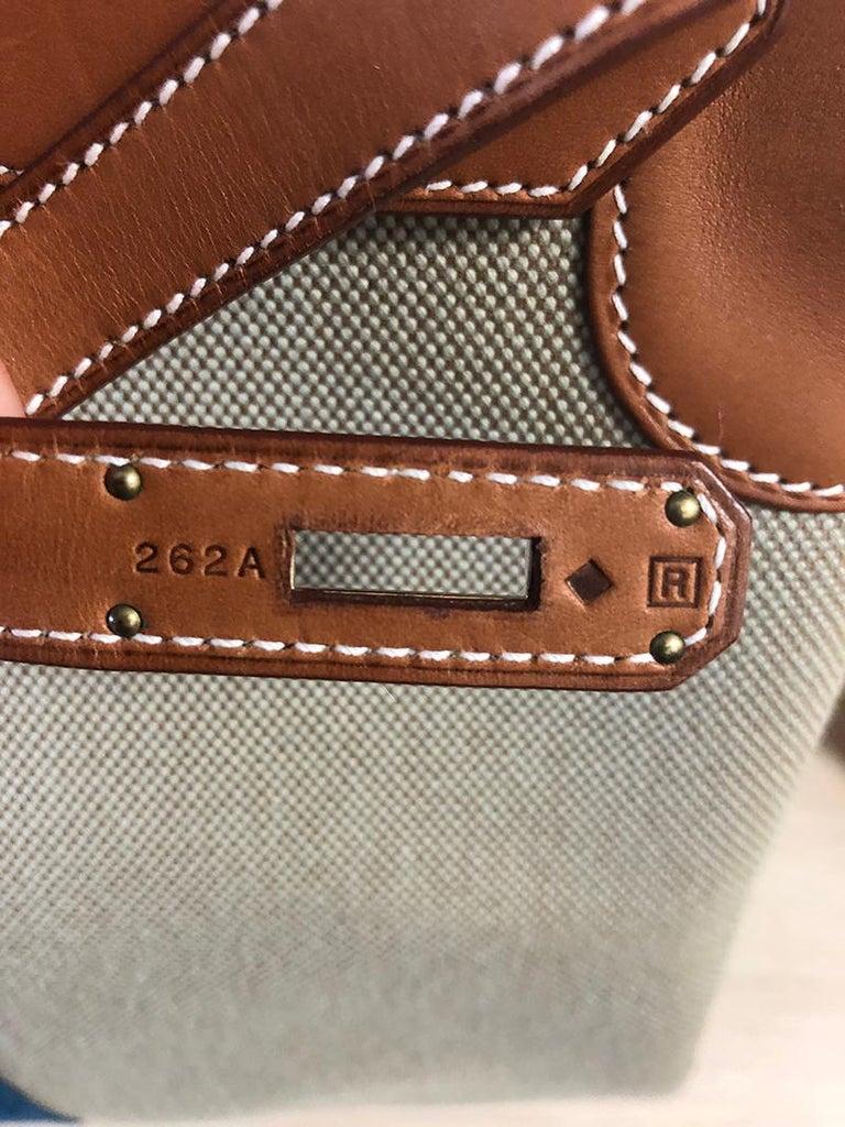 Women's or Men's HERMES 40cm Barenia Leather Birkin Bag For Sale