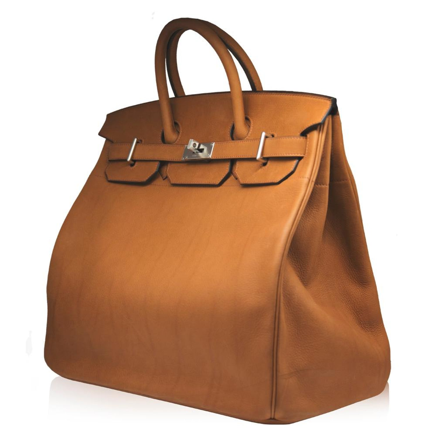 79688e6b14b5 Hermès 40cm Cuivre HAC Birkin Saddle Bag For Sale at 1stdibs
