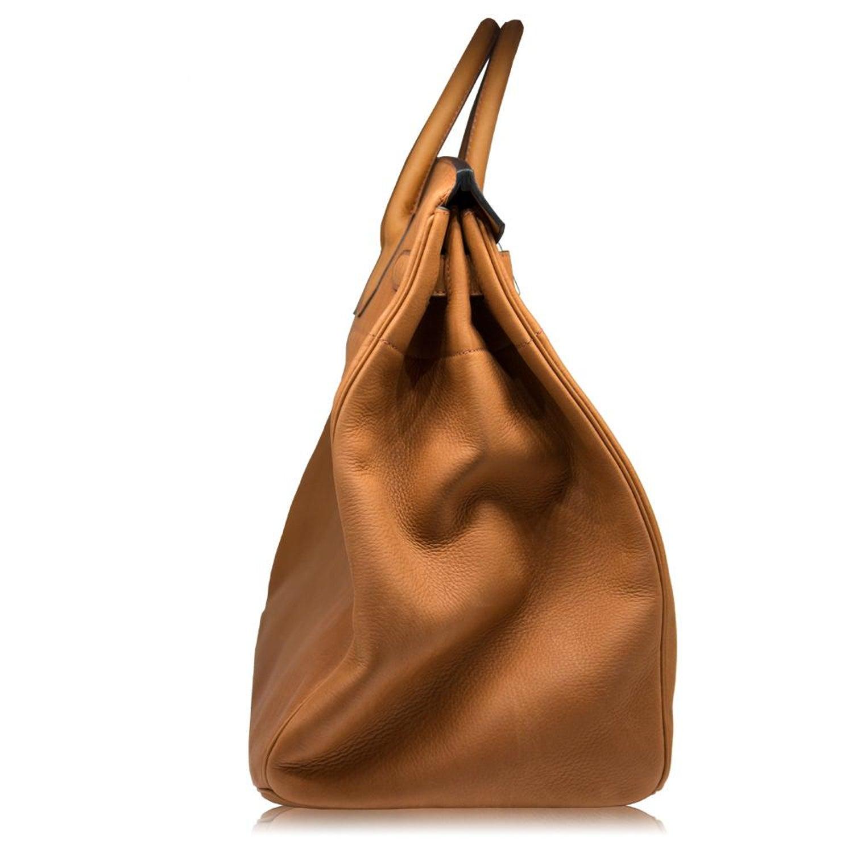 9f13a0498399 Hermès 40cm Cuivre HAC Birkin Saddle Bag For Sale at 1stdibs
