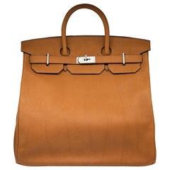 Hermès 40cm Cuivre HAC Birkin Saddle Bag
