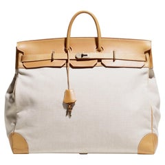 Hermès 55 cm Haut à Courroies Travel Bag