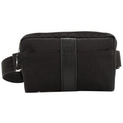 Hermes Acapulco Waist Bag Canvas Toile with Leather