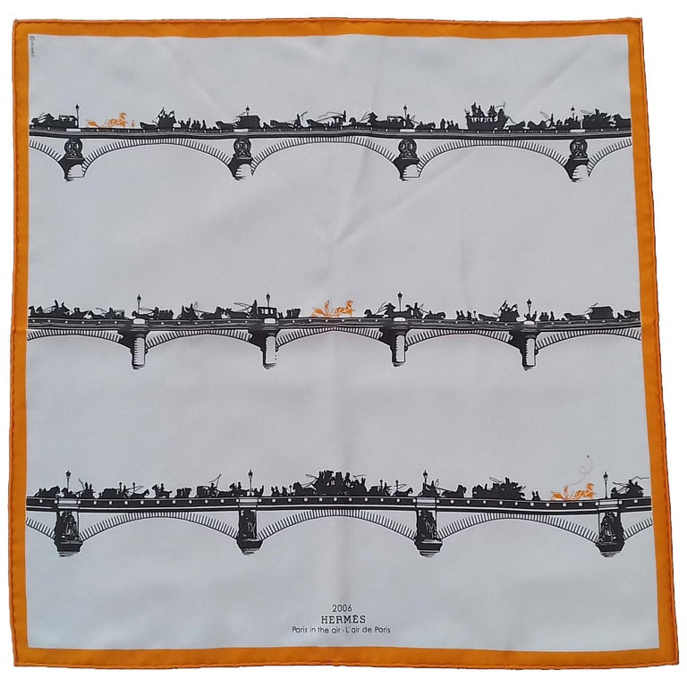 Beautiful Authentic Hermès Scarf  Limited Edition !