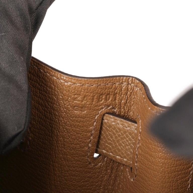 Hermès Alezan Epsom Leather Kelly 28cm Sellier For Sale 4