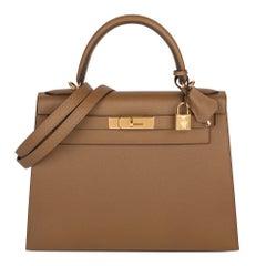 Hermès Alezan Epsom Leather Kelly 28cm Sellier