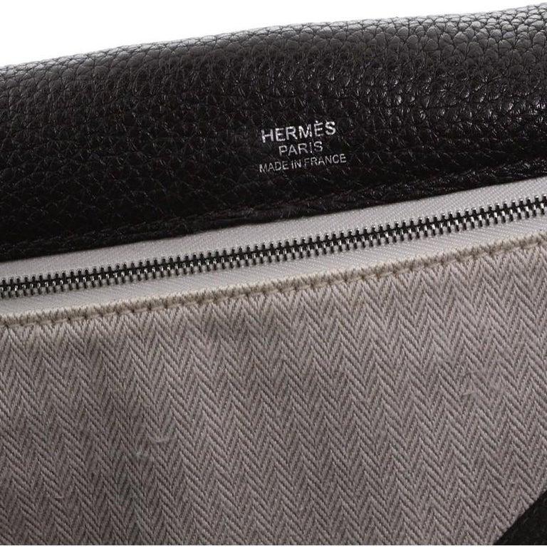 Hermes Alfred Messenger Bag Clemence 35 For Sale 8