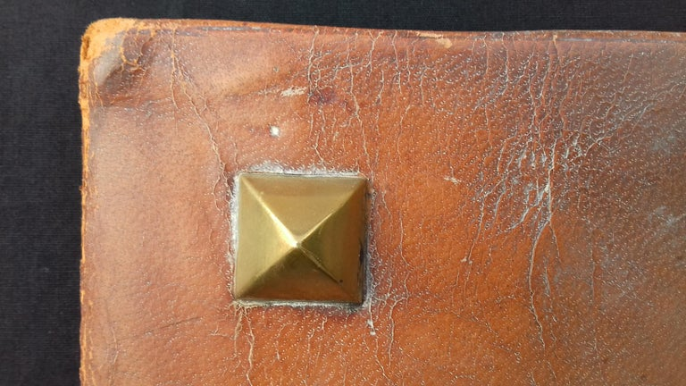 Hermès and Paul Jouve Leather Portfolio with Knocker Medor Ghw RARE For Sale 5