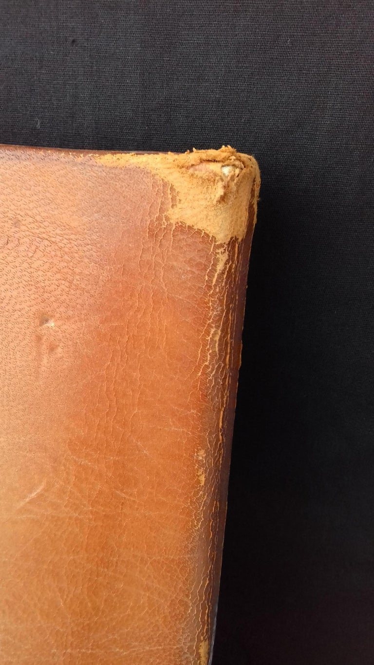 Hermès and Paul Jouve Leather Portfolio with Knocker Medor Ghw RARE For Sale 12