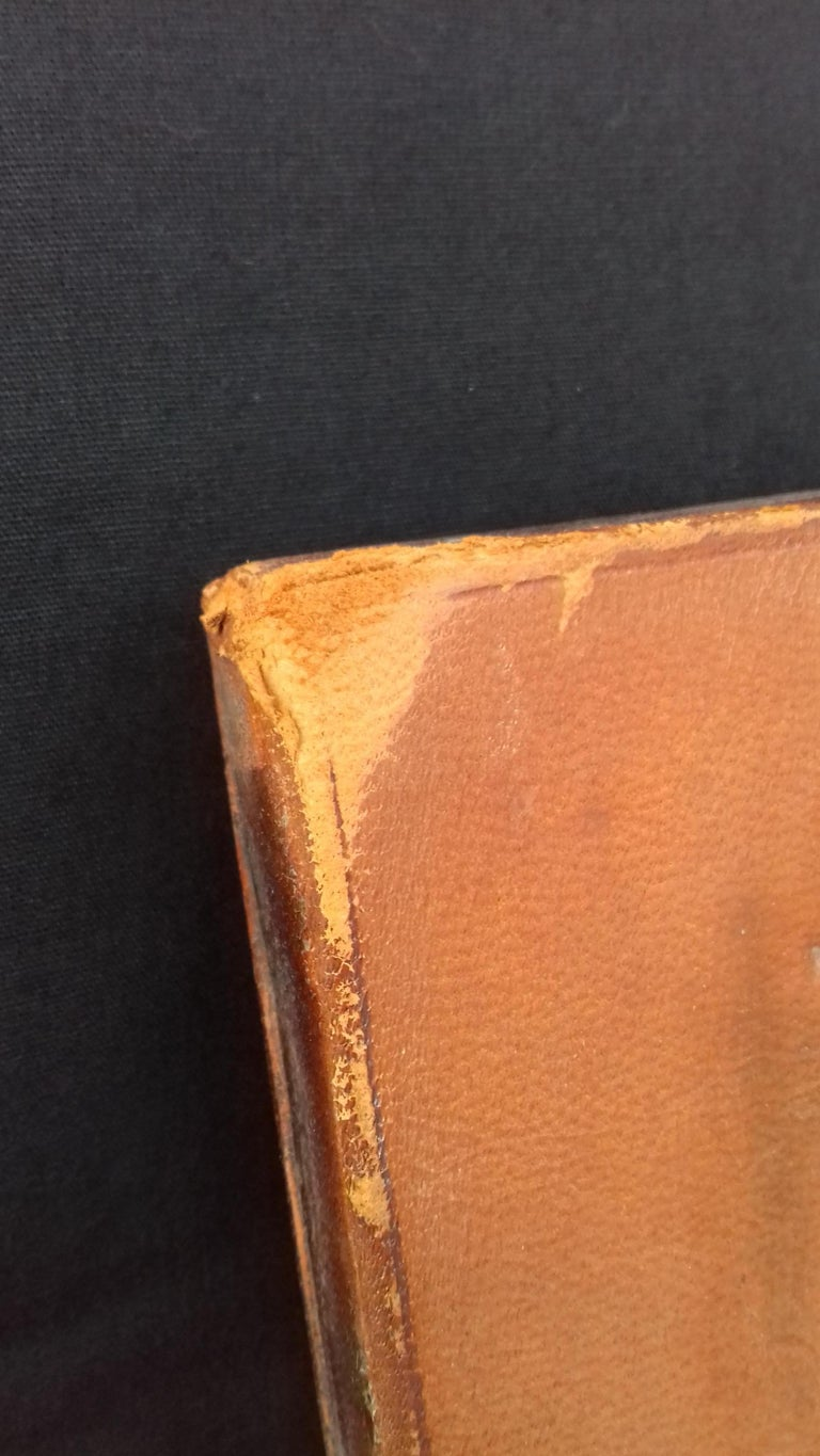 Hermès and Paul Jouve Leather Portfolio with Knocker Medor Ghw RARE For Sale 13