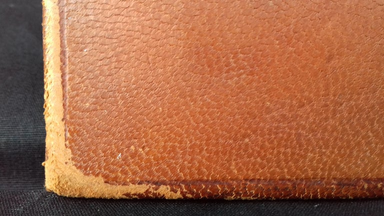 Hermès and Paul Jouve Leather Portfolio with Knocker Medor Ghw RARE For Sale 14