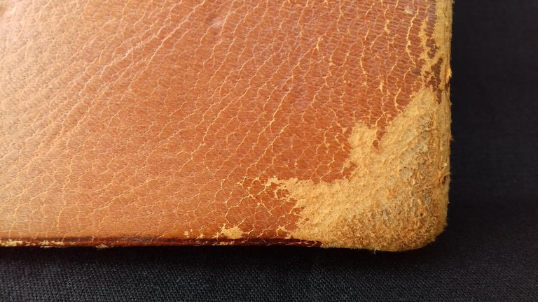 Hermès and Paul Jouve Leather Portfolio with Knocker Medor Ghw RARE For Sale 15