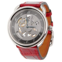 Hermes Anniversary Limited Edition Arceau White Gold Watch