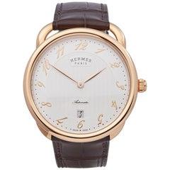 Hermes Arceau 18K Rose Gold W041146WW00
