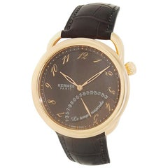 Hermes Arceau AR8.97A, Brown Dial, Certified and Warranty