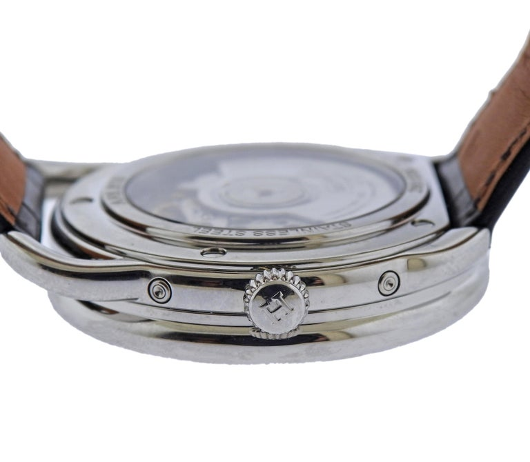 Men's Hermes Arceau Moonphase Automatic Stainless Steel Watch AR8.810