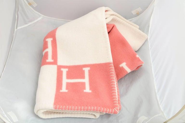 Hermes Avalon Baby Blanket For Sale at 1stdibs