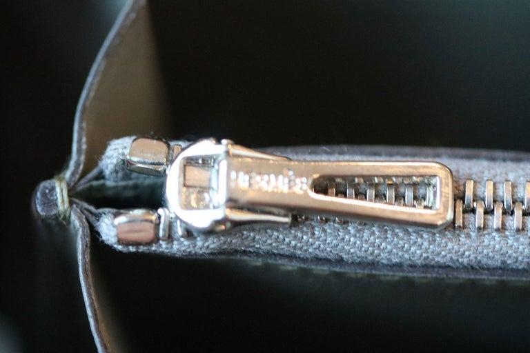 Hermès Azap Crocodile Leather Long Wallet  For Sale 3