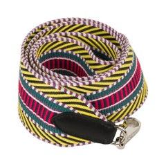 Hermes Bag Strap Sangle Cavale 50 MM Multi Colour Black Swift Palladium