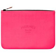 Hermes Bain Neobain Case Bubblegum Pink Small Model New