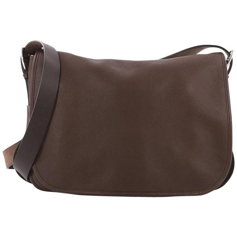 b7bb3be622 Hermes Barda Messenger Bag Veau Alamo and Vache Hunter 30 For Sale ...