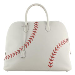 Hermes Baseball Bolide Bag Evercolor 45
