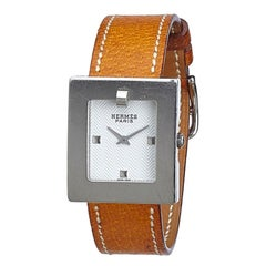 Hermes BE1.210 Leather Watch
