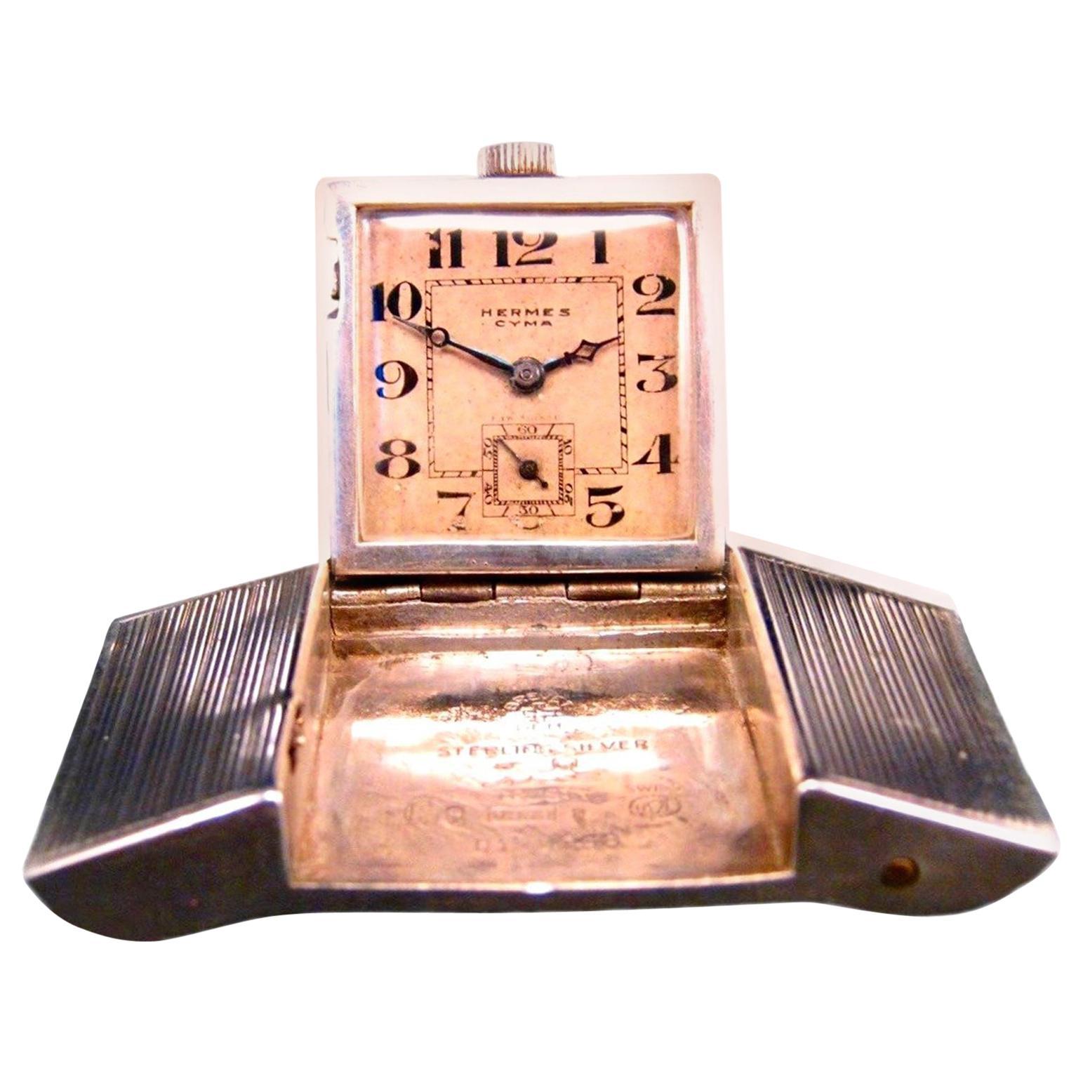 Hermès Belt Buckle Watch from 1930s