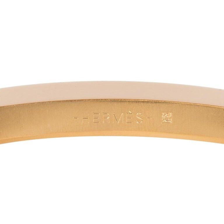 Hermes Belt Constance 42mm Gris Elephant Matte Porosus Crocodile / Gold 90 For Sale 2
