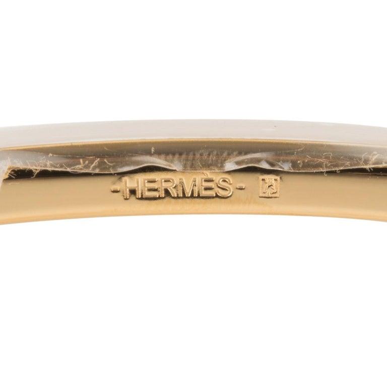 Hermes Belt H Constance 32 mm Rouge Coeur / Blue De Nord Epsom Brushed Gold 95  For Sale 1