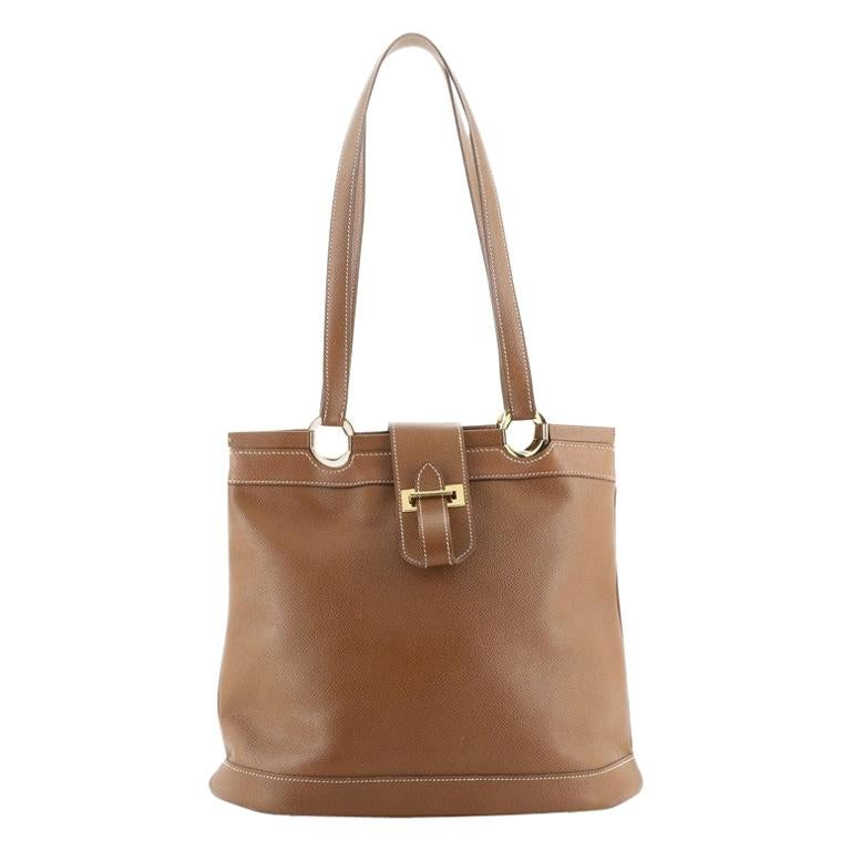 Hermes Berry Tote Bag Courchevel