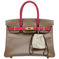 Hermes Bi-Colour 30cm HSS Birkin Bag