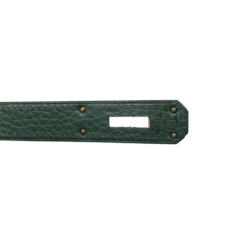 Hermès Bi-colour 32cm Kelly Sellier Bag For Sale 4