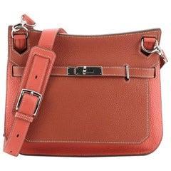 Hermes Bicolor Jypsiere Bag Clemence 28