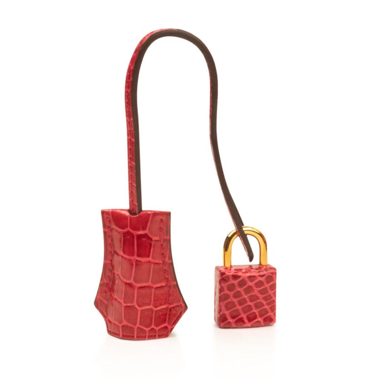 Hermes Birkin 25 Bag Braise Porosus Crocodile Gold Hardware Lipstick Red  For Sale at 1stdibs 336eb33dc4