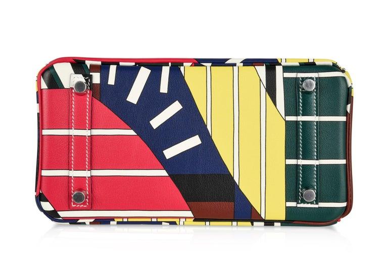 Hermes Birkin 25 Bag One Two Three and Away We Go Limited Edition Nigel Peake For Sale 9
