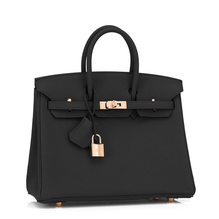 Hermes Black Baby Birkin 25cm Togo Gold Hardware Jewel Y stamp, 2020 So rare in production, and the most coveted bag right now! Brand New in Box. Store Fresh. Pristine Condition (with plastic on hardware)  Just purchased from Hermes store! Bag bears