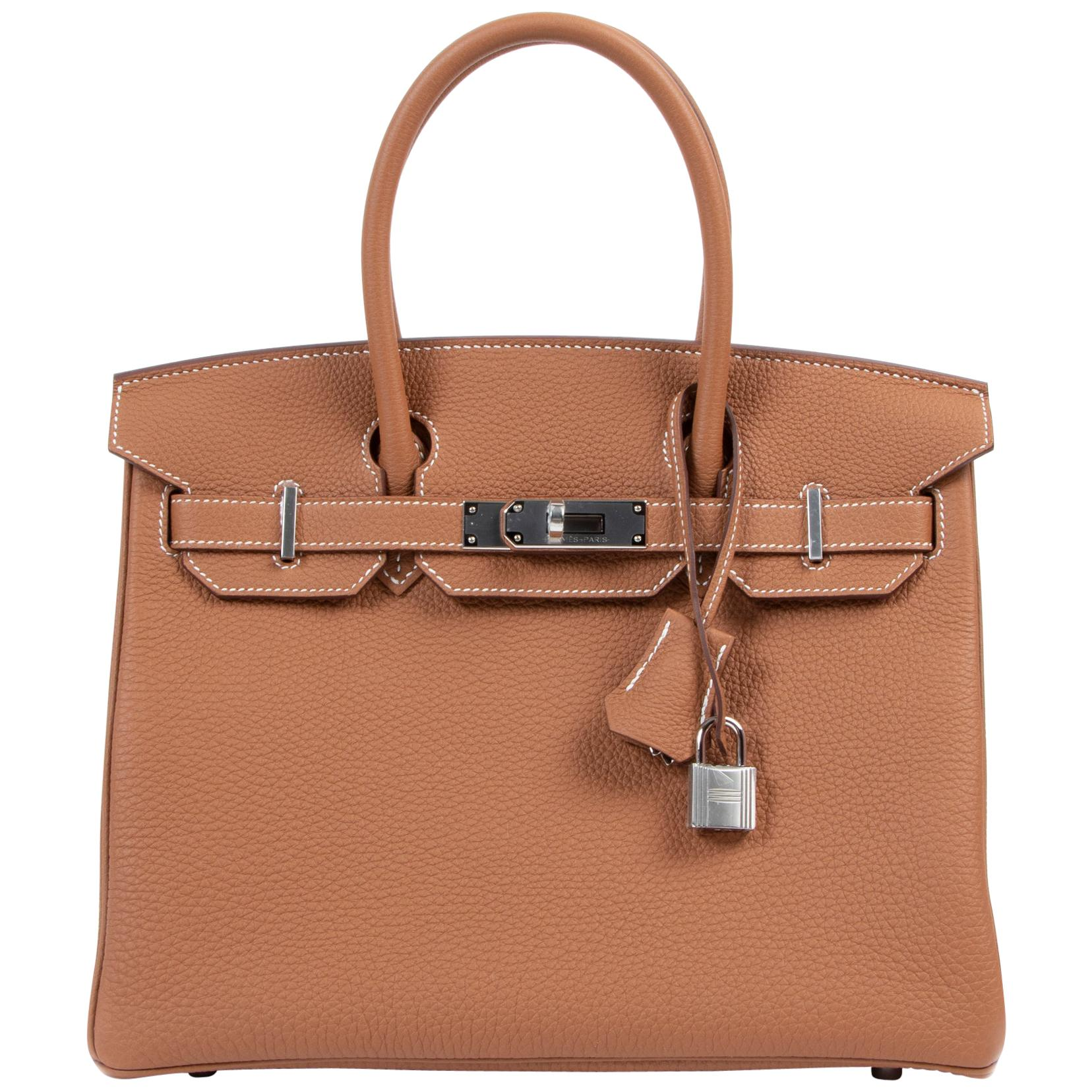 Hermès Birkin 25 Gold Togo GHW