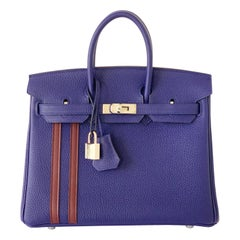 Hermes Birkin 25 Officier Bag Limited Edition