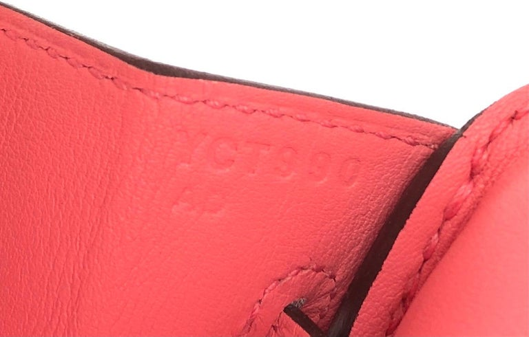 Hermes Birkin 25 Rose D'ete Pink Palladium Hardware 2020 1