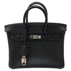 Hermes Birkin 25 Togo Black