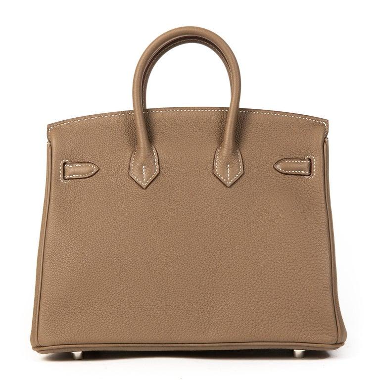 Hermès Birkin 25 Togo Etoupe PHW  1