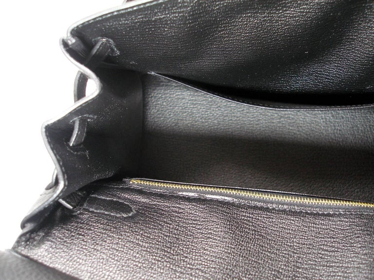 Hermes Birkin 25cm Black Togo Permabrass Hardware Year 2019 / BRAND NEW For Sale 14