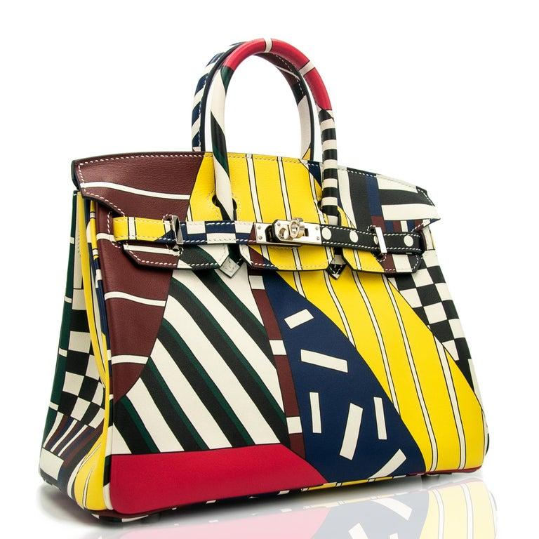 Yellow Hermès Birkin 25cm Swift Leather