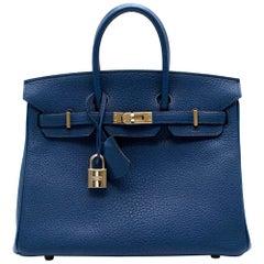 Hermes Birkin 25cm Thalassa Togo Leather - Special Order