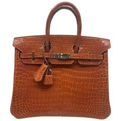 Hermès Birkin 28  Crocodile Porusus Handbag